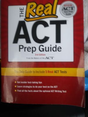 ACT PREP GUIDE & CAREER READY BOOKS for Sale in Charlotte, NC