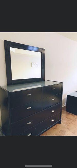 Dresser and bed frame for Sale in North Port, FL
