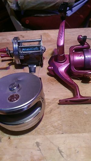 FISHING REEL`S for Sale in Tupelo, MS