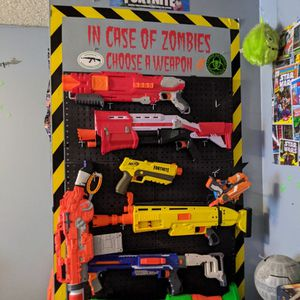 Nerf guns. Price for full lot OBO for Sale in Chula Vista, CA