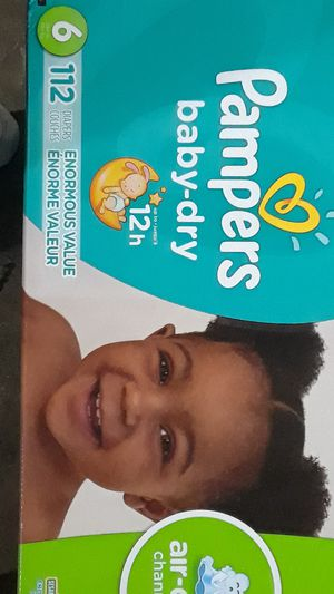Size 6 112 Pampers for Sale in Philadelphia, PA
