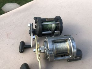 Shimano Tekota And TR200 fishing reels for Sale in Redlands, CA