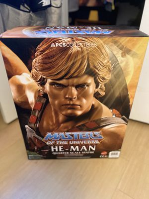 HE-MAN 1/4 statue from PCS collectibles Sideshow for Sale in Austin, TX