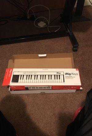 Irig Keys mini keyboard 37 keys for Sale in Detroit, MI