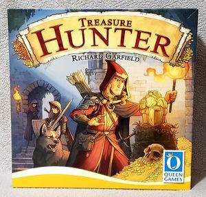 Queen Games Treasure Hunter Board Game by Richard Garfield NEW Open Box for Sale in Harrisonburg, VA