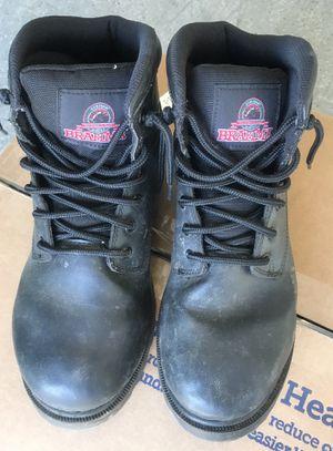 BRAHMA Men's Work Boot Escott Black Size 8.5 Oil & Slip Resistant for Sale in Lanham, MD