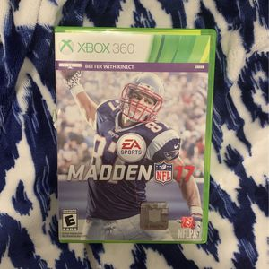 Madden 17 For Xbox 360 for Sale in Baton Rouge, LA