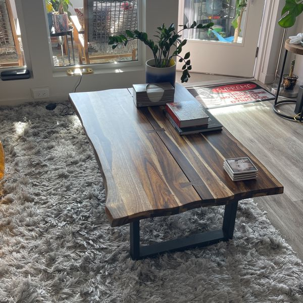 Wooden Coffee Table For Living Room