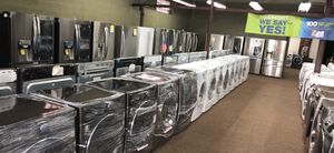 Washer dryer stove refrigerator FINANCE AVAILABLE for Sale in Passaic, NJ