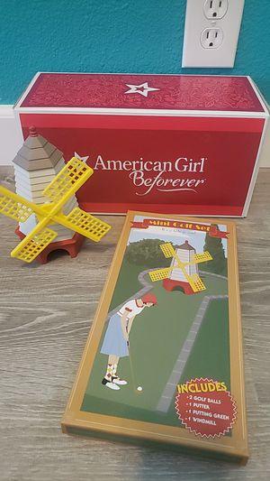 American Girl Doll mini golf set for Sale in Manteca, CA