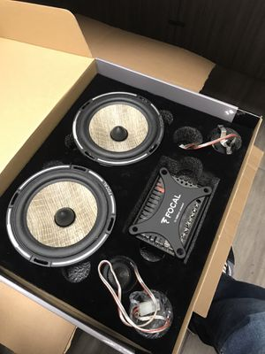 Focal 6 1/2 components PS165FX for Sale in Long Beach, CA