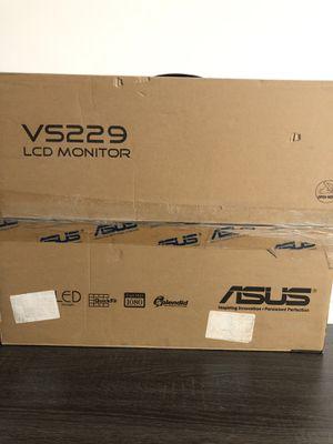 """ASUS VS229H-P 21.5"""" Full HD 1920x1080 IPS HDMI DVI VGA Monitor for Sale in Fresno, CA"""