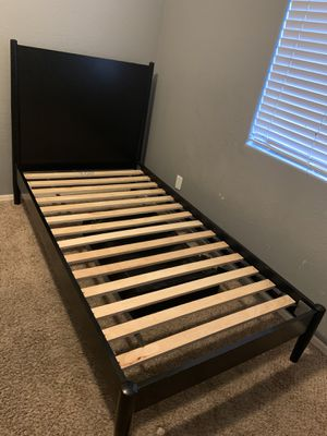 Black TWIN BED FRAME for Sale in Avondale, AZ