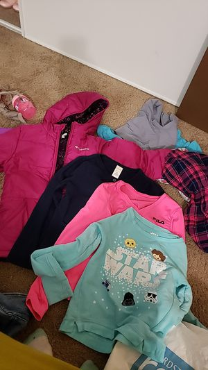 Free 7/8 girl clothes for Sale in Beaverton, OR