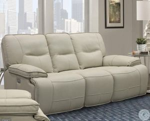 Power Reclining Sofa with Power Headrest for Sale in Glendale, AZ