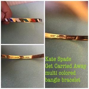 Kate Spade Get Carried Away multi-colored gold bangle bracelet. $20 FIRM for Sale in Westerville, OH
