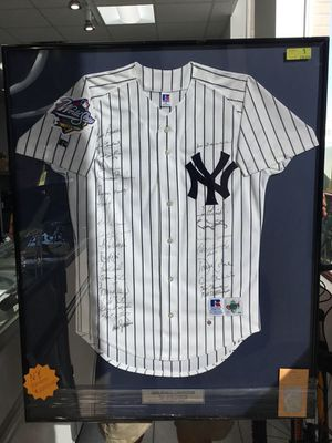 Autographed NY YANKEES World Series 1998 Jersey for Sale in Okeechobee, FL