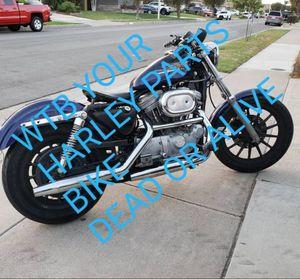 Harley dyna sportster bagger for Sale in Huntington Beach, CA