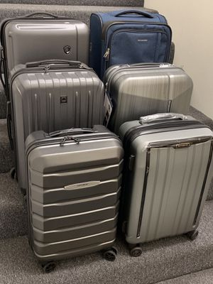 $35 to $45 range NEW carry on luggage bag by Samsonite Ricardo high quality travel suitcase for Sale in El Monte, CA
