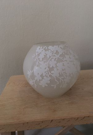 IKEA frosted glass rounded lamp for Sale in Coral Gables, FL