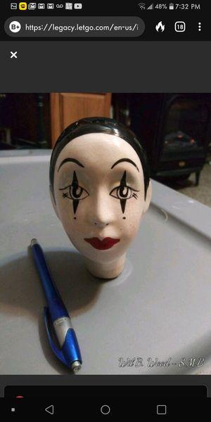 Antique porcelain doll head for Sale in Panama City, FL