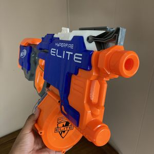 Nerf Elite Hiperfire Blaster for Sale in Scranton, SC