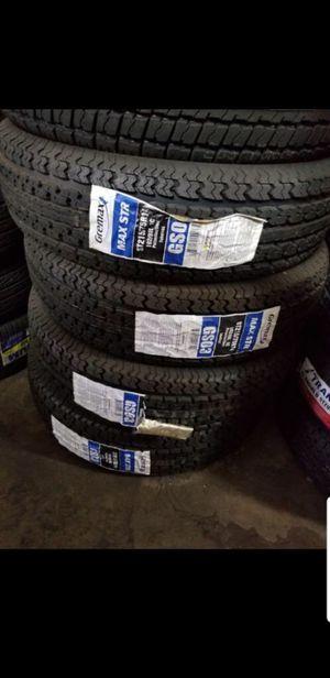 Trailer tires st215 75 14 for Sale in Phoenix, AZ