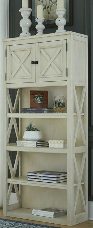 Bolanburg White/Oak Large Bookcase by ASHLEY for Sale in Houston, TX