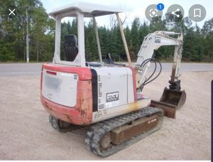 Mini excavator. 4 rent.$300×Day for Sale in Glendale, AZ