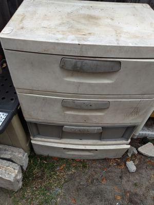 Plastic drawer utility storage for Sale in Kenneth City, FL