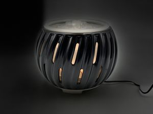 Ceramic semi matte black oil diffuser and fountain (BT🎵) for Sale in Farmers Branch, TX