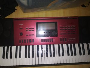 Casio keyboard with full stage set up for Sale in Hobe Sound, FL