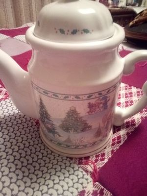 Precious Moments Christmas Tea Pot for Sale in Oskaloosa, IA