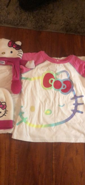 Hello kitty t shirt and beanies for Sale in Concord, CA
