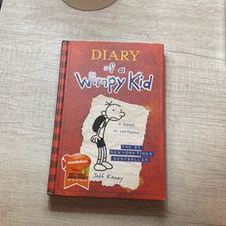 Diary Of A Wimpy Kid By Jeff Kinney Book Hardcover for Sale in Irving,  TX