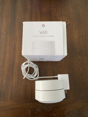 Google Wifi - Mesh Wifi System - Wifi Router for Sale in Elmwood Park, IL