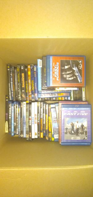 50+ DVDs and blurays for Sale in New Iberia, LA