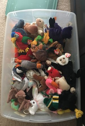 80+ Vintage Beanie Babies (many with tag errors) for Sale in Morristown, NJ