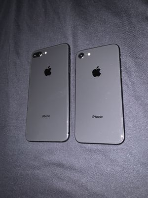 Apple iPhone 8 Plus & iPhone 8 with new case and glass screen protector and same day I do deliver and meet up 👌 for Sale in Fremont, CA