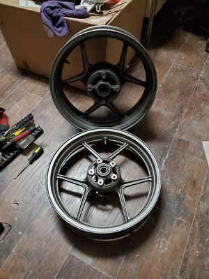 2005 2006 Ninja Zx636 wheels for Sale in Santa Fe Springs, CA