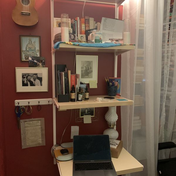 Container Store Elfa Desk/wall Shelf Unit