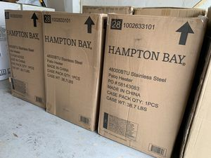 Hampton Bay Patio Heater 48000 BTU Stainless Steel Brand New for Sale in Fairfax, VA