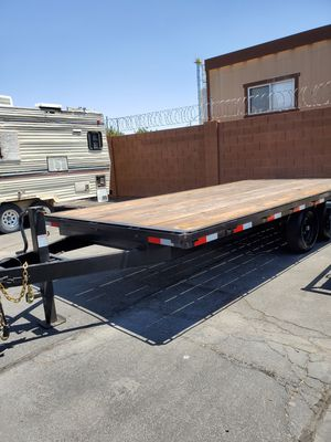 2018 flat deck car hauler pintle hitch for Sale in Tempe, AZ