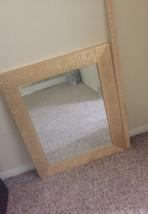 25.5 inches tall. 20inches wide. Mirror for Sale in Houston, TX