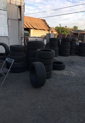 Got a fresh badge of used tires $15 and up for Sale in Fresno, CA
