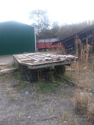 Perfect for a MARDI GRAS float! Wagon style flatbed trailer for Sale in Pensacola, FL