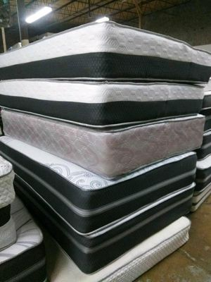New Mattresses Come with Box spring for Sale in Elkridge, MD