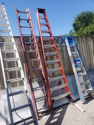 LADDER BLOWOUT SALE 8 FT WERNER ALUMINUM LADDER ONLY $49 NEW! MANY LADDERS AVAIL!! for Sale in Orlando, FL