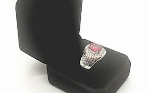 NATURAL 3 CARAT RUBY GEM STONE CERTIFIED MENS RING for Sale in Fairfax, VA