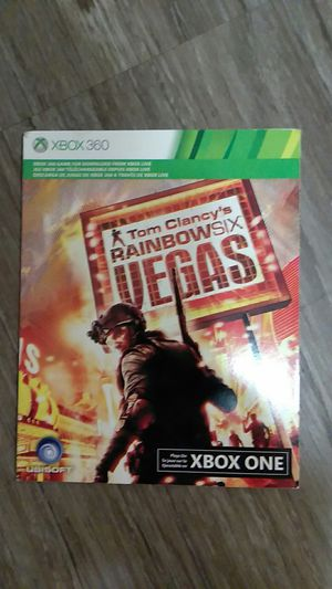 Rainbow Six, downloadable XBox 360 game. Took a picture of back of item to show that it was not opened and at no time was it ever downloaded. for Sale in Columbus, OH